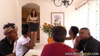 سكس ديوث اجنبي زوج يشاهد نيك زوجته ثم يلحس لبن الذكور XXX الحرة ...