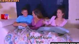 سكس محارم جماعي مترجم زوجة الأب والإبنة والعشيق XXX الحرة أنبوب عربي